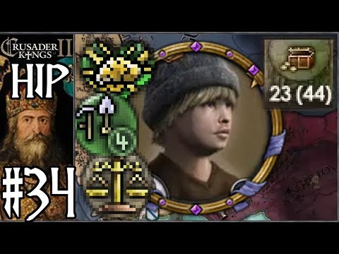 CK2 HIP: Forgotten Karling #34 - Glorious Child Emperor (Series B)