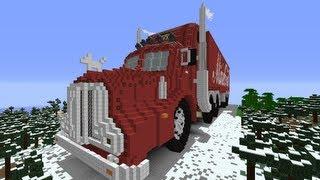 Let's Show Minecraft 1.6.4 Piston House Truck Part 7 + Download nicht der Coca Cola Truck epic