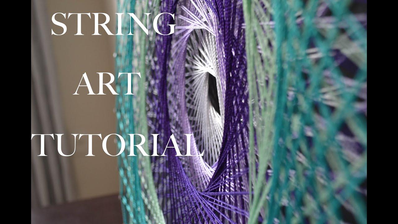 String art mandala tutorial youtube string art mandala tutorial baditri Image collections