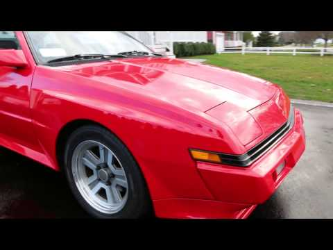 1987 Mistubishi Starion ESI-R Turbo For Sale~Near Perfect Condition and a Unmolested Time Capsule