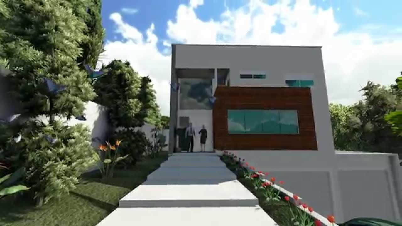 Projetos De Casas Modelo De Um Sobrado Com 3 Pavimentos