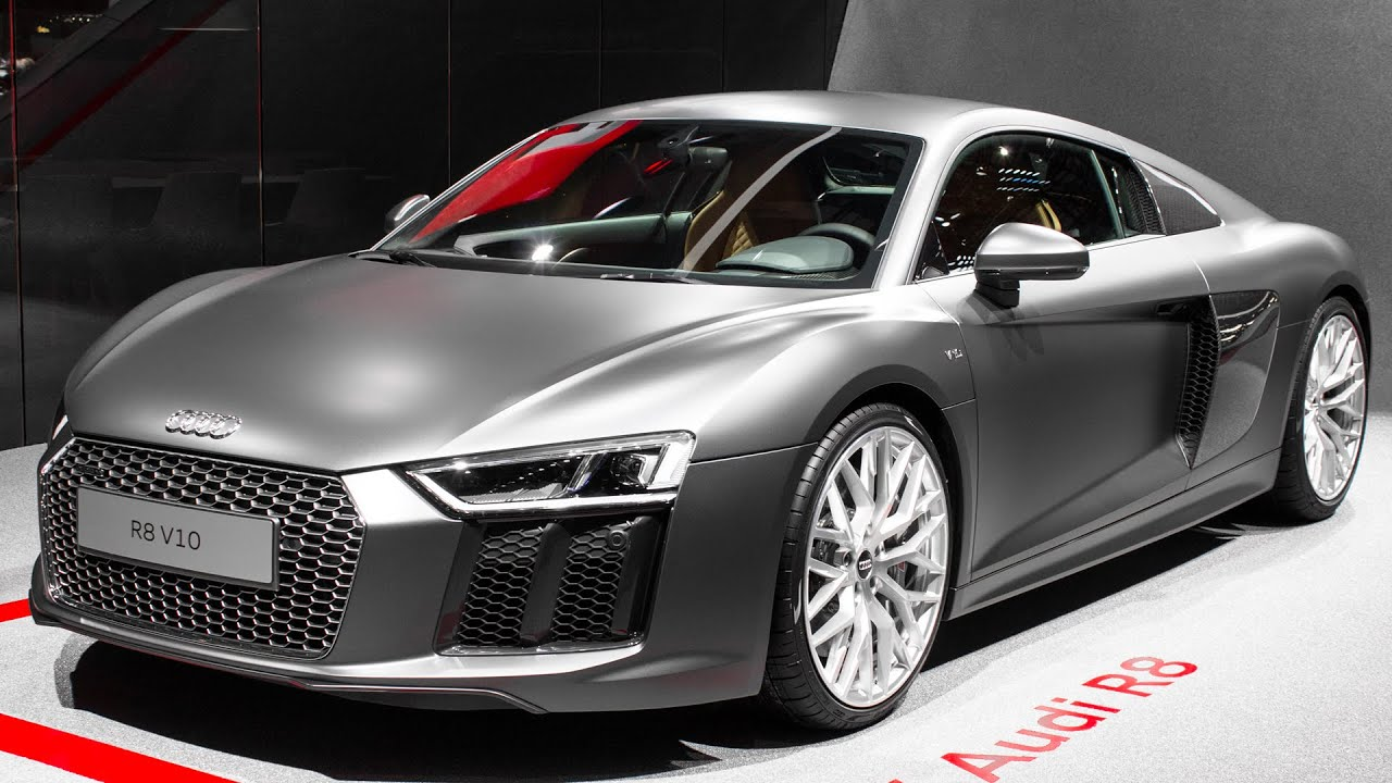 New Audi R8 V10 Geneva Motor Show 2015 Hq Youtube