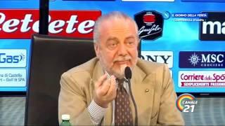 Il futuro allenatore del Napoli? De Laurentiis risponde così a Titti Improta