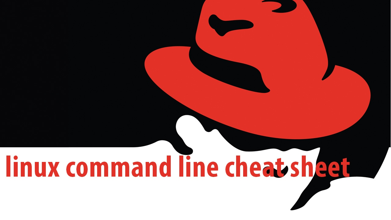 linux command line cheat sheet all