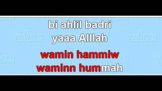 Video SHOLAWAT BADAR NO VOCAL download MP3, 3GP, MP4, WEBM, AVI, FLV Agustus 2018