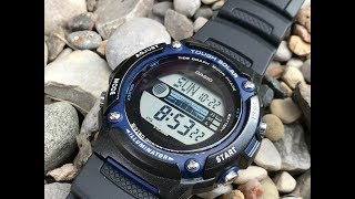 Casio ws210h affordable tough solar greatness