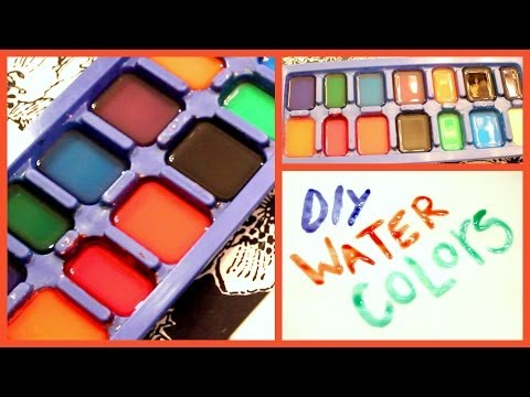 DIY Water Colors!