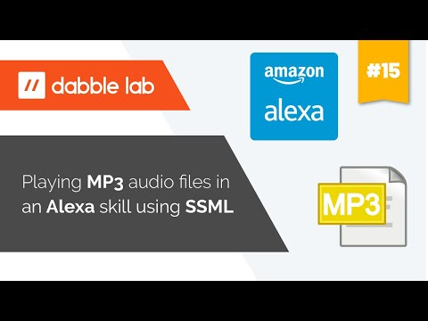Playing mp3 audio files in an Alexa skill using SSML