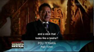 Part 1 of 2 How to use Maori weaponry