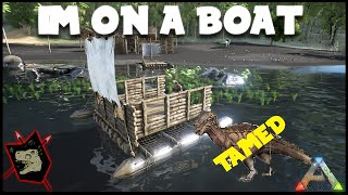 ARK Survival Evolved Gameplay #48 BOATS!!!! & A New Dino Patchy!