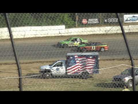 Moler Raceway Park   8/25/19   Compacts   Heat 1