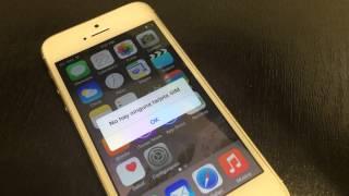 Desbloqueo iPhone 5S T-Mobile a TELCEL (Soporta 9.3.3)