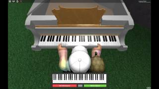 House Of Gold On Roblox Piano