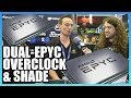 Overclocked Dual-Epyc CPUs with Der8auer (Ft. Lots of Shade)
