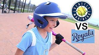🥎GAME WINNING RUN at Softball Game 🥎 Mariners vs Royals