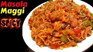 Maggi Masala Recipe   Spicy Maggi Recipe   Masala Maggi Recipe in Hindi   Veg Maggi   Apna Zayka
