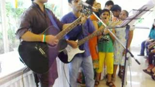 Rubaroo-Music for Meaning Plugged Independence jam 2013 @ Chloris, Faridabad with chorus