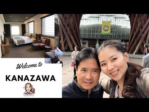KANAZAWA || EP 1 || Arriving in Kanazawa & Hotel Mystays Premier Kanazawa Review