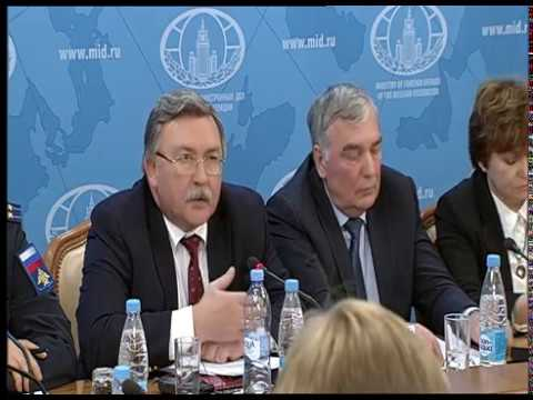 A joint briefing of the MFA, Ministry of Defence & Ministry of Industry and Trade