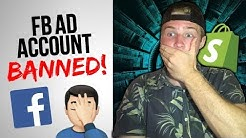 What To Do If Your Facebook Ad Account Gets Banned *SOLUTION*