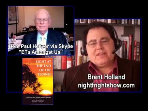 Paul Hellyer Aliens ETS & Bankers & being Canada's Defence Minister Night Fright Show