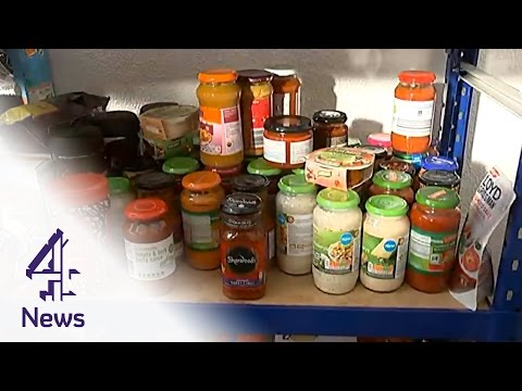 Feeding Britain: Food Banks On The Rise As 'hunger Stalks The UK'   Channel 4 News