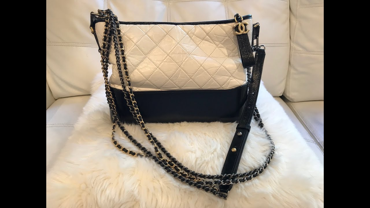 6db63458ebffd3 Chanel Gabriel Hobo Bag Review - YouTube