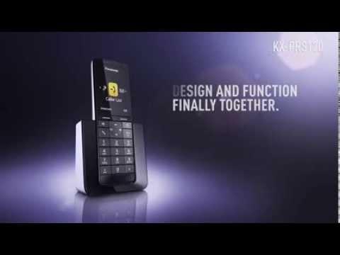 PANASONIC KX-PRS110/120 en KX-PRW110/120 DECT draadloze telefoons