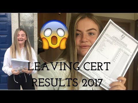 GETTING MY LEAVING CERT RESULTS // 500+ POINTS