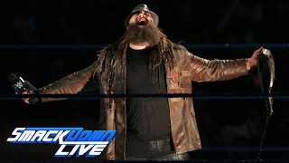 Bray Wyatt returns from Elimination Chamber as the WWE Champion: SmackDown LIVE, Feb. 14, 2017(The New Face of Fear basks in the glory of the darkness with the WWE Title now a part of The Wyatt Family. #SDLive More ACTION on WWE NETWORK ..., 2017-02-15T02:02:22.000Z)