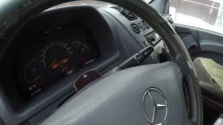 Mercedes vito w638 Читаем ошибки, устраняем проблемы.Хорошая коррекция по форсункам CR