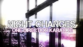 One Direction - Night Changes - Instrumental / Karaoke - Lyrics on Screen