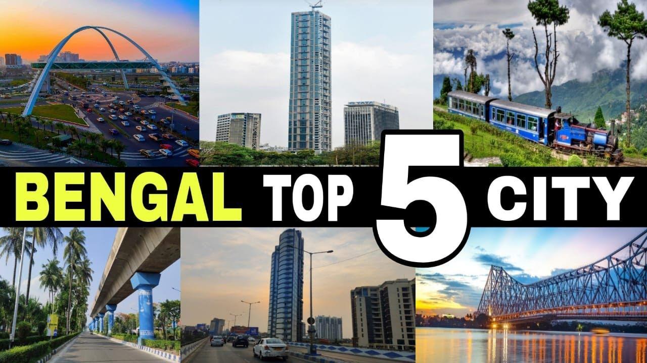 Download West Bengal - Top 5 Biggest & Advance Cities    Bengal    India    Debdut YouTube