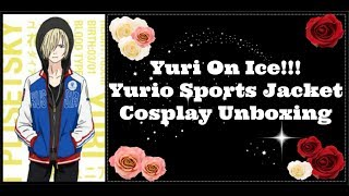 Yurio Sports Jacket Cosplay Unboxing & Review | Yuri On Ice!!!