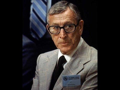 John Wooden speaking at UCLA 4/15/1970
