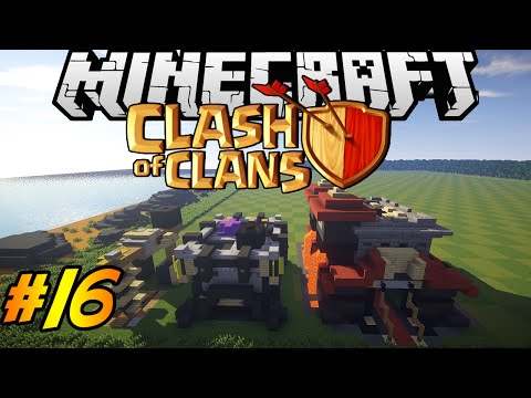 Clash Of Clans In Minecraft | Making Of #16 | ALMOST DONE. Townhall