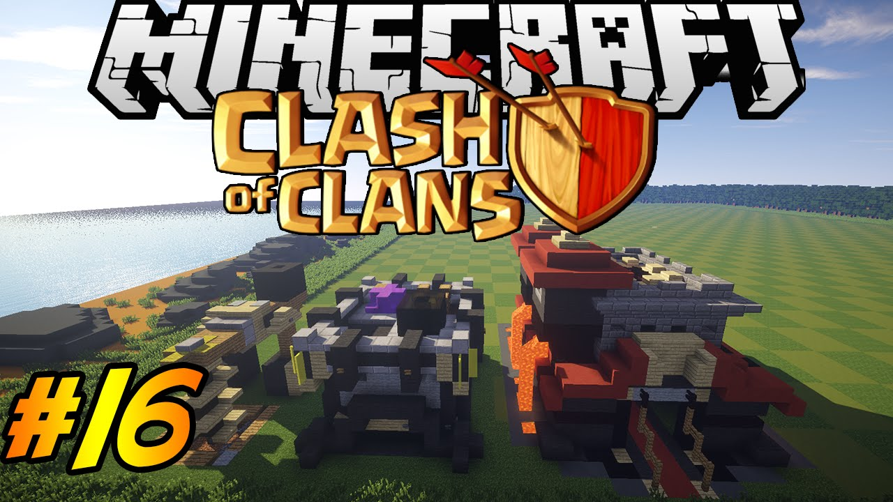 Clash Of Clans In Minecraft Making Of  Almost Done Townhall Youtube