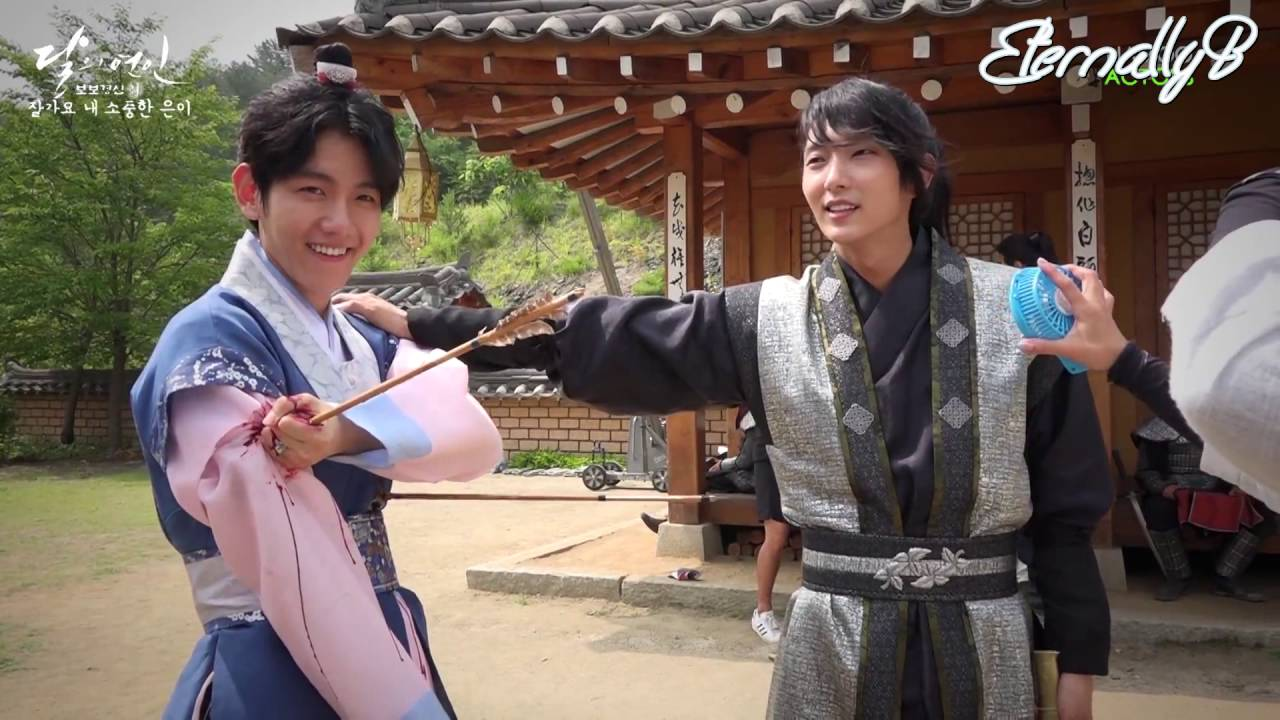 Eng Subs 161022 Moon Lovers Bts Goodbye Wangeun Youtube