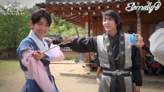 ENG SUBS 161022 MOON LOVERS BTS - Goodbye Wangeun