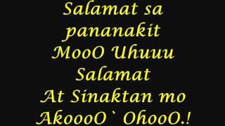 Repeat youtube video Salamat Sa Pananakit mo With Lyrics