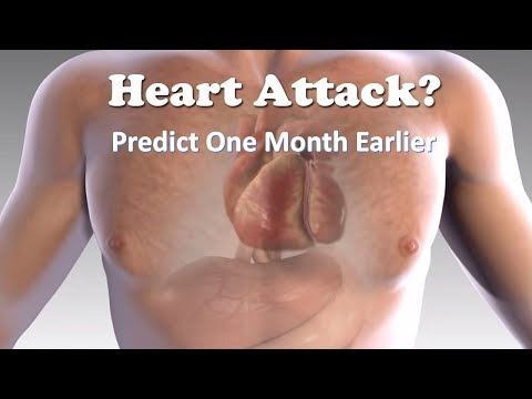How to Predict a Heart Attack One Month Earlier?