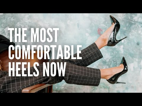 The 10 Most Comfortable Heels You Can Actually Walk In