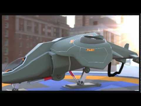 Aircraft Modeling and Animation Result