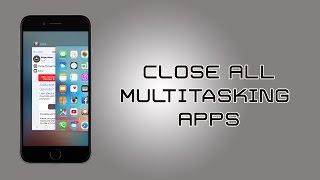 iOS 9 Cydia Tweaks: Close All Applications in One Swipe