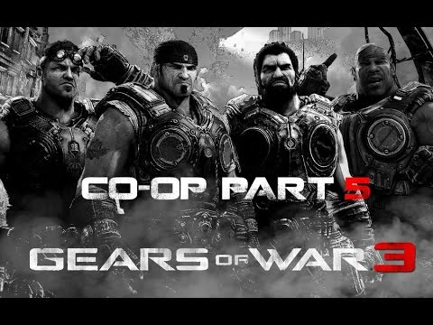 Gears of War 3 Co-op Gameplay part 5