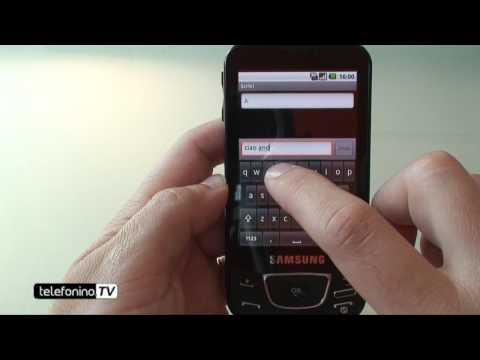 Samsung Galaxy i7500 videoreview da telefonino.net