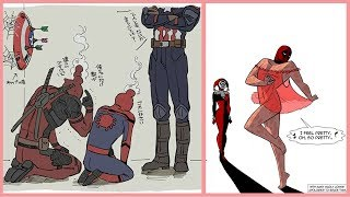Funny DeadPool Comics | Funny DeadPool & SpiderMan