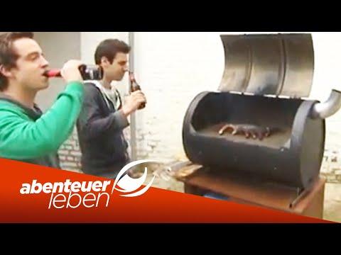 Einfach und günstig selber bauen: Der Fass-Grill-Smoker (2/2)   Abenteuer Leben