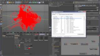 Tutoriel Cinema4D - TurbulenceFD LE + pCache + pShade