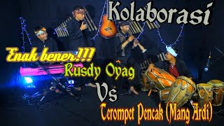 Download Seru Bener!!! Kolaborasi kendang Sunda (Rusdy Oyag) vs Terompet pencak (Mang Ardi)